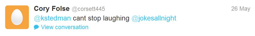 cory folse tweet