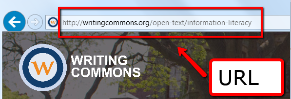 Understanding URL Structure, WritingCommons.org